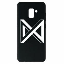 Чохол для Samsung A8+ 2018 Monsta x simbol