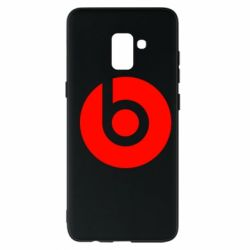 Чехол для Samsung A8+ 2018 Monster Beats by Dr.Dre