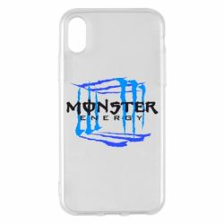 Чехол для iPhone X Monster Cube - FatLine