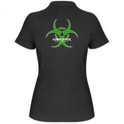 Женская футболка поло Monster Energy Biohazard - FatLine