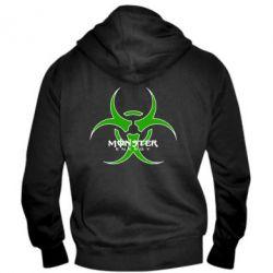 Мужская толстовка на молнии Monster Energy Biohazard - FatLine