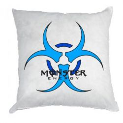 Подушка Monster Energy Biohazard
