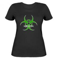 Жіноча футболка Monster Energy Biohazard