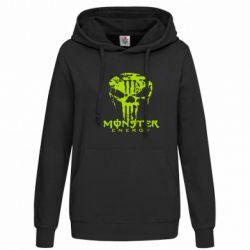 Женская толстовка Monster Energy Череп - FatLine