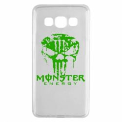Чехол для Samsung A3 2015 Monster Energy Череп - FatLine