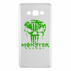 Чехол для Samsung A7 2015 Monster Energy Череп - FatLine