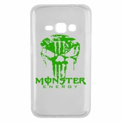 Чехол для Samsung J1 2016 Monster Energy Череп - FatLine