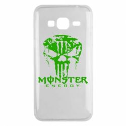 Чехол для Samsung J3 2016 Monster Energy Череп - FatLine