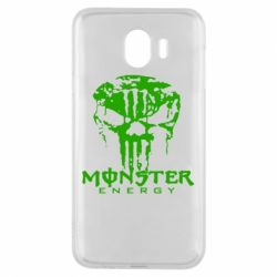 Чохол для Samsung J4 Monster Energy Череп