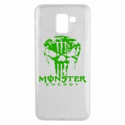 Чохол для Samsung J6 Monster Energy Череп