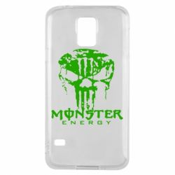 Чехол для Samsung S5 Monster Energy Череп - FatLine