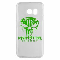 Чехол для Samsung S6 EDGE Monster Energy Череп - FatLine