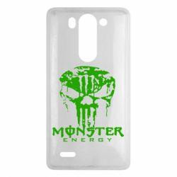 Чехол для LG G3 mini/G3s Monster Energy Череп - FatLine