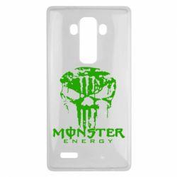Чехол для LG G4 Monster Energy Череп - FatLine