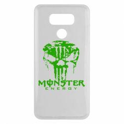 Чехол для LG G6 Monster Energy Череп - FatLine