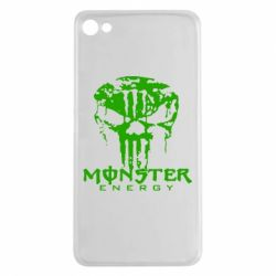 Чехол для Meizu U20 Monster Energy Череп - FatLine