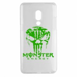 Чехол для Meizu 15 Plus Monster Energy Череп - FatLine