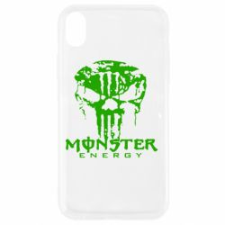 Чохол для iPhone XR Monster Energy Череп