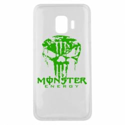 Чохол для Samsung J2 Core Monster Energy Череп