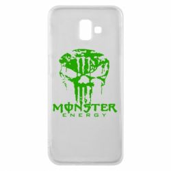 Чохол для Samsung J6 Plus 2018 Monster Energy Череп