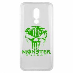 Чехол для Meizu 16x Monster Energy Череп - FatLine