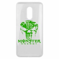 Чехол для Meizu 16 plus Monster Energy Череп - FatLine