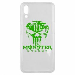 Чехол для Meizu E3 Monster Energy Череп - FatLine