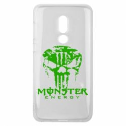 Чехол для Meizu V8 Monster Energy Череп - FatLine