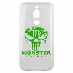 Чехол для Meizu X8 Monster Energy Череп - FatLine
