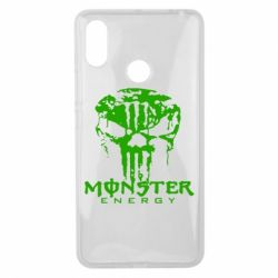 Чохол для Xiaomi Mi Max 3 Monster Energy Череп