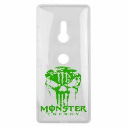 Чехол для Sony Xperia XZ3 Monster Energy Череп - FatLine