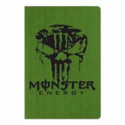 Блокнот А5 Monster Energy Череп