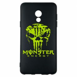 Чехол для Meizu 15 Lite Monster Energy Череп - FatLine