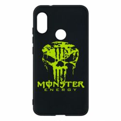 Чехол для Mi A2 Lite Monster Energy Череп - FatLine