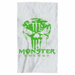Рушник Monster Energy Череп