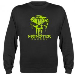 Реглан Monster Energy Череп