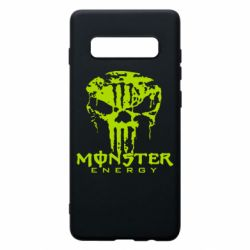 Чохол для Samsung S10+ Monster Energy Череп