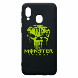 Чохол для Samsung A40 Monster Energy Череп