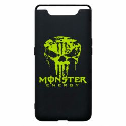 Чохол для Samsung A80 Monster Energy Череп