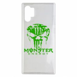 Чохол для Samsung Note 10 Plus Monster Energy Череп