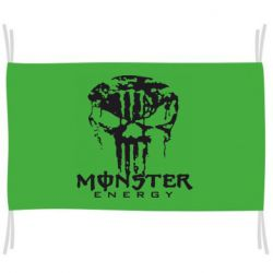 Прапор Monster Energy Череп