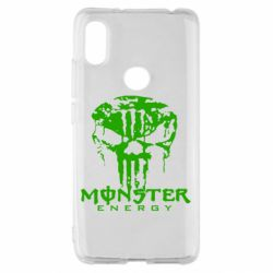 Чохол для Xiaomi Redmi S2 Monster Energy Череп