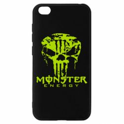 Чохол для Xiaomi Redmi Go Monster Energy Череп