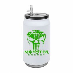 Термобанка 350ml Monster Energy Череп