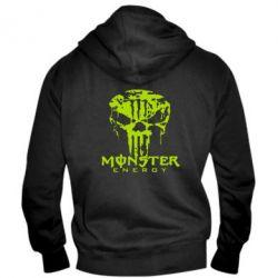Мужская толстовка на молнии Monster Energy Череп - FatLine