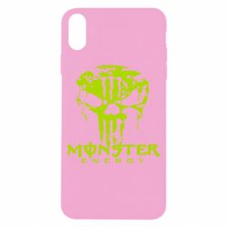 Чохол для iPhone X/Xs Monster Energy Череп