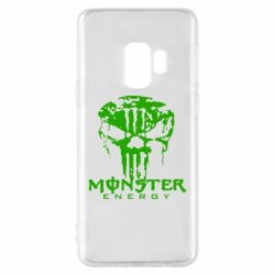 Чехол для Samsung S9 Monster Energy Череп - FatLine