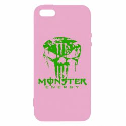 Чехол для iPhone5/5S/SE Monster Energy Череп - FatLine