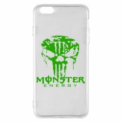 Чехол для iPhone 6 Plus/6S Plus Monster Energy Череп - FatLine