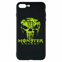 Чехол для iPhone 8 Plus Monster Energy Череп - FatLine